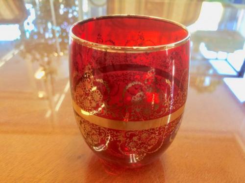グラスのベネチアンガラス
