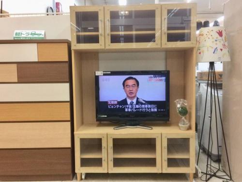 ローボード・テレビ台のニトリ