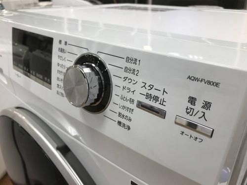 ドラム式全自動洗濯機のAQUA