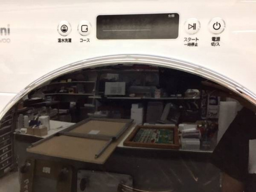 ドラム式洗濯機のDaewoo
