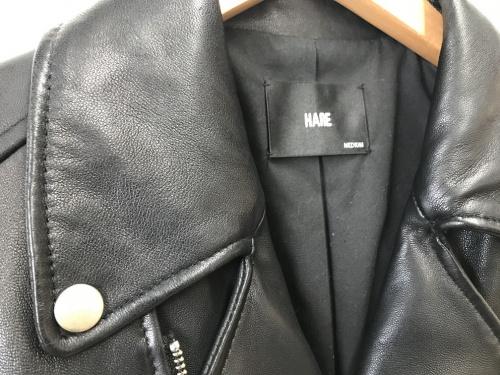 ジャケットのHARE