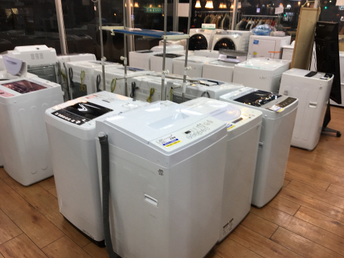 八王子中古洗濯機