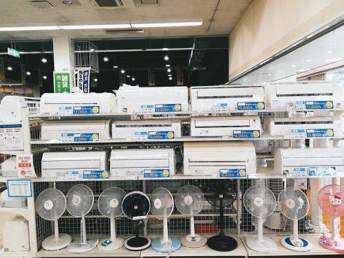 家電のエアコン