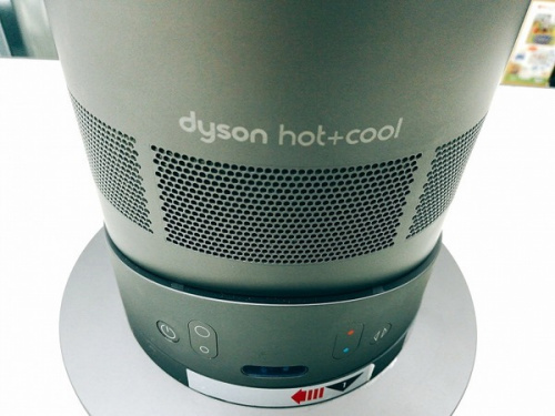 hot+coolのdyson