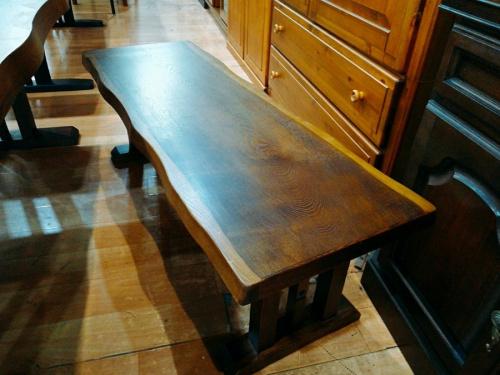 貞苅椅子のベンチダイニング テーブル