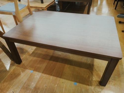 暖房家電 冬物家電のコタツ テーブル コタツダイニング