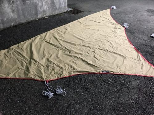 焚火タープ TCウィングの南大沢 アウトドア用品 キャンプ用品 買取