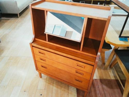ライティングチェスト キャビネット 収納家具のカリモク60+