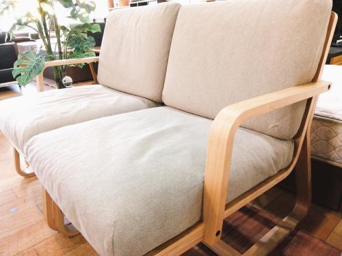 2人掛けソファー チェアの無印良品 MUJI