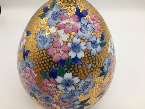 花器のさくら絵 花瓶