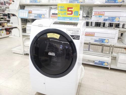 ドラム式洗濯機のエアコン