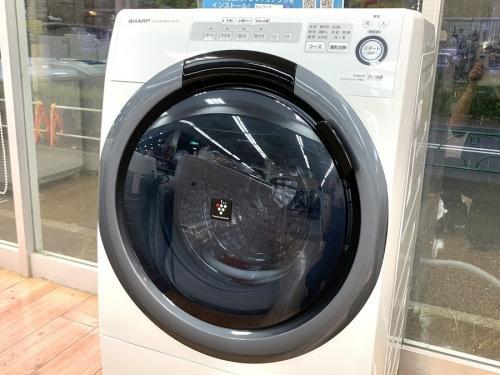 SHARP シャープのドラム式洗濯機