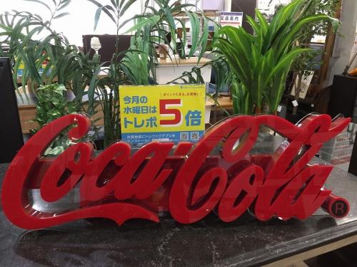 コカコーラのCOCA COLA