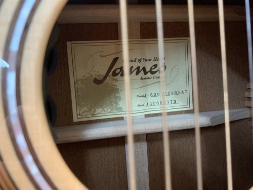 Jamesのジェームス