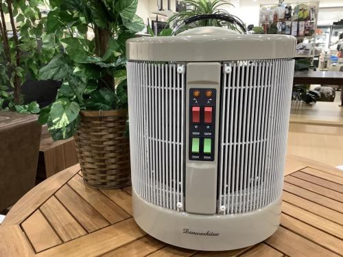 パネルヒーターの暖房