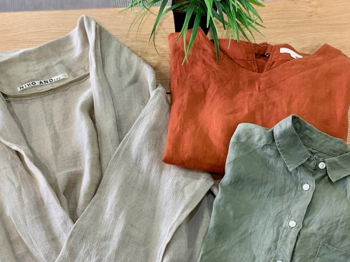 レディースファッションのアロハシャツ