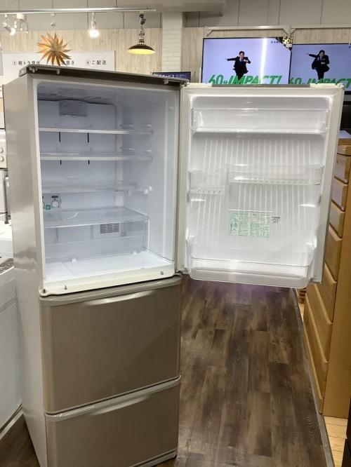 3ドア冷蔵庫のシャープ
