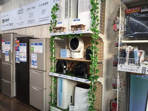 季節家電の除湿器