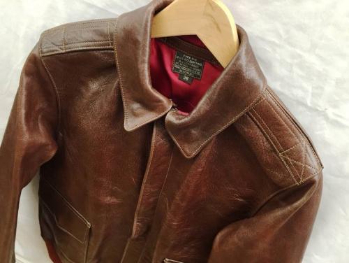 レザージャケットのBUZZ RICKSON'S