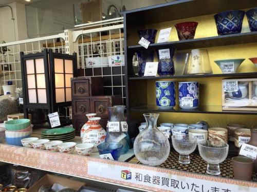 萩焼の東久留米店食器、小物