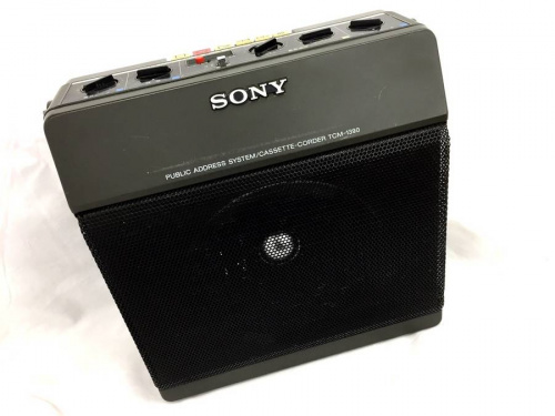 デジタル家電のカセットレコーダー