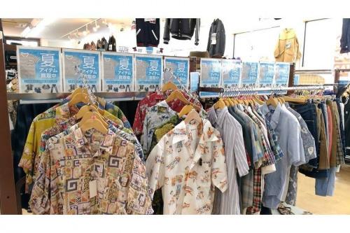 レディースファッションの東久留米店衣類