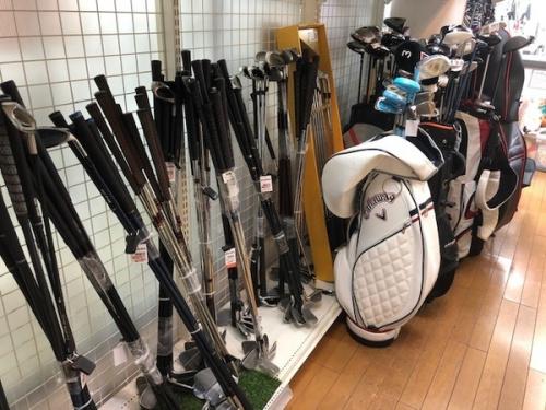 ゴルフの東久留米市 朝霞市 新座市 西東京市 練馬区 清瀬市 ゴルフウェア ゴルフ用品 買取