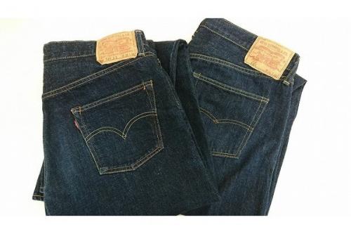ボトムスのジーンズ