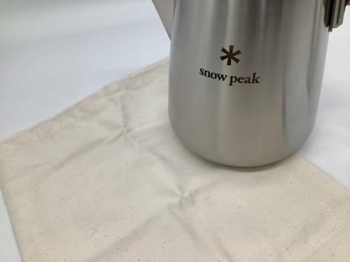 アウトドア用品のスノーピーク(snow peak)