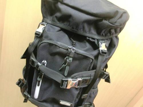 アウトドアのバッグ