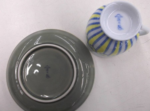 深川製磁のカップ&ソーサー