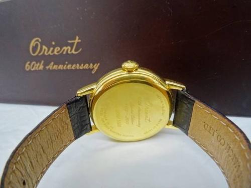 腕時計の60th Anniversary