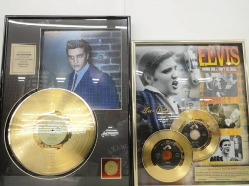 ELVIS PREASLEYのゴールドディスク