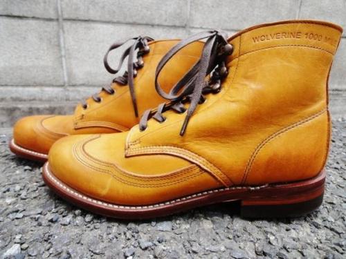 WOLVERINEのブーツ