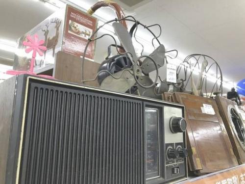 扇風機のラジオ