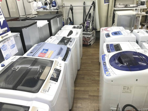 中古冷蔵庫の洗濯機