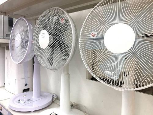 扇風機の夏家電