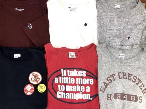 Tシャツのチャンピオン