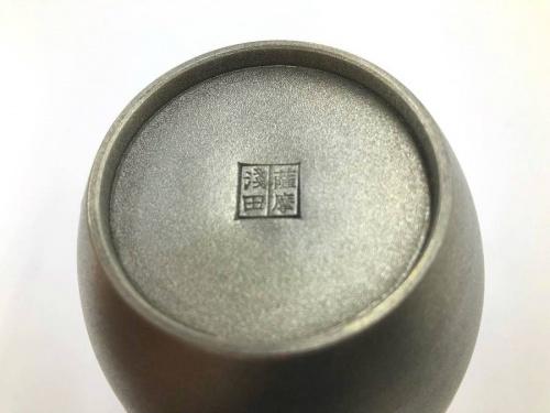 川崎 中古 雑貨の和食器 茶器 茶筒 本錫