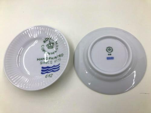 川崎 中古 食器 洋食器 のROYAL COPENHAGEN ロイヤルコペンハーゲン ホワイトフルーテッド 10周年
