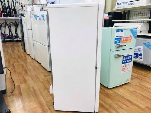 2ドア冷蔵庫のユーイング