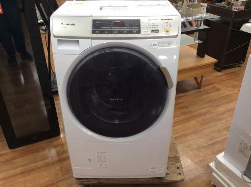 家事家電のドラム式洗濯乾燥機