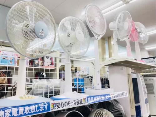 夏物家電の川崎 青葉 世田谷 鶴見 横浜 中古 家電 買取