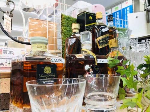 ブランデー・ウイスキーの川崎 中古 雑貨