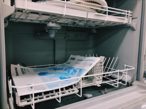 洗濯機の食器洗乾燥機
