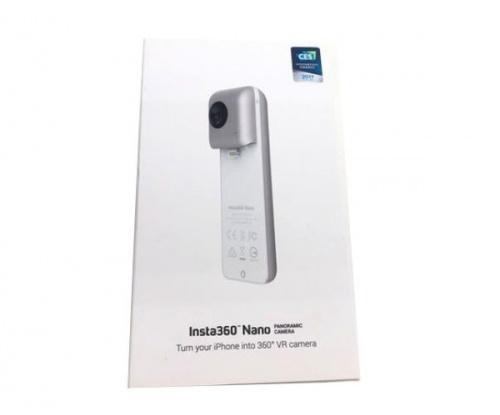 レンズのinsta360 Nano