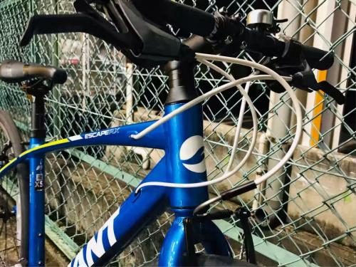 自転車のクロスバイク