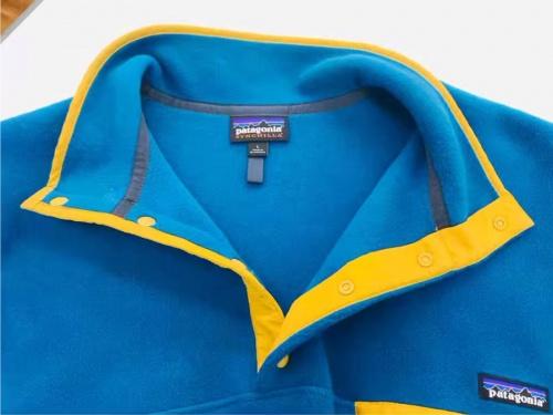 ジャケットのシンチラスナッププルオーバー