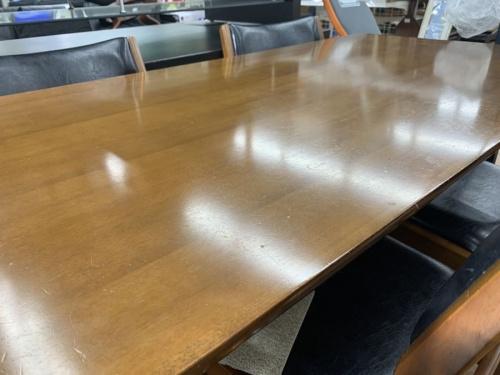 カリモクのダイニング 5点セット テーブル