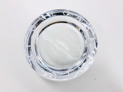 クリスタル灰皿のBVLGARI×Rosendahl